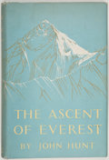 Books:Travels & Voyages, [Sir Edmund Hillary]. John Hunt. The Ascent of Everest.[London]: [1953]. First edition, signed by Sir Edmund ...