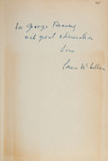 Books:Literature 1900-up, Carson McCullers. The Ballad of the Sad Café. Boston:Houghton Mifflin, [1951]. Later edition, Inscribed....