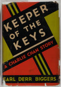 Books:Mystery & Detective Fiction, Earl Derr Biggers. Keeper of the Keys. A Charlie ChanStory. Indianapolis: Bobbs-Merrill, [1932]. First edition....