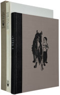 Books:Fine Press & Book Arts, [Arion Press]. Two Works: Sigmund Freud. The Case of theWolf-Man... 1993. 250 copies signed by Jim Dine. [a... (Total:2 Items)