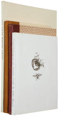 Four on Papermaking: Oliver Bayldon, verse. The Paper Makers Craft; John Mason. <