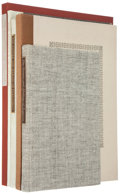 Books:Fine Press & Book Arts, [Books about Books]. Four on Papyrus, Parchment, and Vellum: TheMystique of Vellum; The Nature and Making of Papyrus;...(Total: 4 Items)