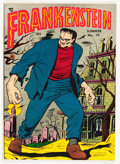 Golden Age (1938-1955):Horror, Frankenstein Comics #19 (Prize, 1952) Condition: FN/VF....