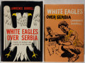 Books:Fiction, Lawrence Durrell. First Edition and First American Edition ofWhite Eagles Over Serbia. London: Faber, [1957]. [...(Total: 2 Items)