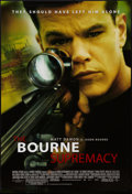 "Movie Posters:Action, The Bourne Supremacy & Other Lot (Universal, 2004). One Sheets(2) (27"" X 40"") DS Regular & Advance. Action.. ... (Total: 2Items)"