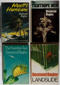 Books:Mystery & Detective Fiction, Desmond Bagley. Three First Editions and One First AmericanEdition, including: Wyatt's Hurricane; Landslide; The Freedo...(Total: 4 Items)