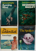 Books:Mystery & Detective Fiction, Desmond Bagley. Four First Editions, including: The GoldenKeel [his first novel]; The Spoilers; The Vivero ... (Total:4 Items)