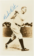 Autographs:Photos, Circa 1948 Babe Ruth Signed Photograph....