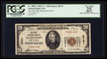 National Bank Notes:West Virginia, Peterstown, WV - $20 1929 Ty. 1 The First NB Ch. # 9721. ...
