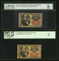 Fractional Currency:Fifth Issue, 25¢ Fifth Issue Notes.. ... (Total: 2 notes)