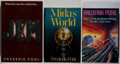 Books:Science Fiction & Fantasy, [Jerry Weist]. Frederik Pohl. Group of Three Signed and Inscribed First Edition Books. Various, 1979-1992. Near fine.... (Total: 3 Items)