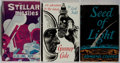 Books:Science Fiction & Fantasy, [Jerry Weist]. [Science Fiction]. Group of Three First Edition Books. Various, 1949-1959. Very good or better condition.... (Total: 3 Items)
