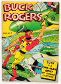 Golden Age (1938-1955):Adventure, Buck Rogers #4 (Eastern Color, 1942) Condition: FN-....