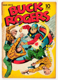 Golden Age (1938-1955):Science Fiction, Buck Rogers #5 (Eastern Color, 1943) Condition: GD....