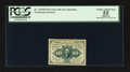 Fractional Currency:First Issue, Fr. 1243SP 10¢ First Issue Narrow Margin Face PCGS Apparent Choice About New 55.. ...