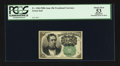 Fractional Currency:Fifth Issue, Fr. 1264 10¢ Fifth Issue PCGS Apparent About New 53.. ...