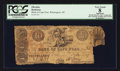Obsoletes By State:North Carolina, Wilmington, NC- Bank of Cape Fear $10 Mar. 5, 1837 G110 Pennell 210. ...