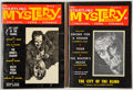 Books:Horror & Supernatural, [Stephen King]. Pair of Startling Mystery Stories Magazines,including: Startling Mystery Stories Fall No. 6... (Total: 2Items)