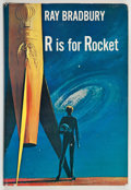 Books:Science Fiction & Fantasy, Ray Bradbury. R is for Rocket. New York: Doubleday, 1962. First edition. Signed by Bradbury and Mugnaini....