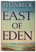 Books:Fiction, John Steinbeck. East of Eden. New York: Viking, 1952. Firstedition....