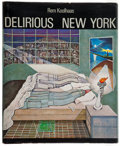 Books:Art & Architecture, Rem Koolhaas. Delirious New York. New York: Oxford UP, 1978. First edition....