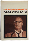 Books:Americana & American History, Malcolm X. The Autobiography of Malcolm X. With theAssistance of Alex Haley. New York: Grove [1965]. First edit...