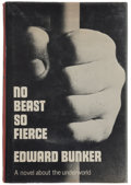 Books:Literature 1900-up, Edward Bunker. No Beast So Fierce. New York: W. W. Norton& Company Inc., [1973]. First edition. Signed by Bun...