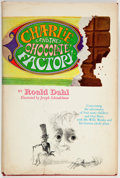 Books:Children's Books, Roald Dahl. Charlie and the Chocolate Factory. Illustratedby Joseph Schindelman. New York: Knopf, [1964]. First edi...