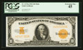 Large Size:Gold Certificates, Fr. 1173 $10 1922 Mule Gold Certificate PCGS Extremely Fine 45.. ...
