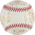 Autographs:Baseballs, 2000 USA Olympic Team Signed Baseball....