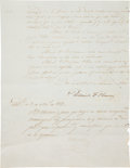 Autographs:Non-American, Daniel Florence O'Leary Document Signed....