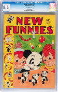 Golden Age (1938-1955):Funny Animal, New Funnies #71 File Copy (Dell, 1943) CGC VF+ 8.5 Off-whitepages....