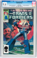 Modern Age (1980-Present):Superhero, Transformers #1 (Marvel, 1984) CGC NM+ 9.6 White pages....