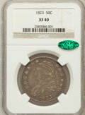 Bust Half Dollars: , 1823 50C XF40 NGC. CAC. NGC Census: (43/580). PCGS Population(84/614). Mintage: 1,694,200. Numismedia Wsl. Price for probl...