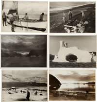 Rockwell Kent. Rockwell Kent's Personal Photograph Archive of His Home at Asgaard, Excursions to Denmark, Greenland, Ala...