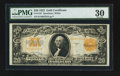 Large Size:Gold Certificates, Fr. 1187 $20 1922 Gold Certificate PMG Very Fine 30.. ...