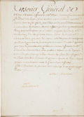 Autographs:Non-American, Marie Antoinette Document Signed...