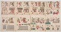 Books:World History, [Mesoamerican History]. Codex Fejérváry-Mayer Manuscrit MexicainPrécolumbien ... Publié en chromophotographie par Le Du...