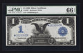 Large Size:Silver Certificates, Fr. 236* $1 1899 Silver Certificate PMG Gem Uncirculated 66 EPQ.....