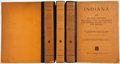 Books:Natural History Books & Prints, Leonhard Schultze Jena. Indiana. Jena: Fischer, 1933-1938. First edition. Photographic plates.... (Total: 3 Items)