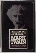 Books:Biography & Memoir, Mark Twain. The Selected Letters of Mark Twain. New York:Harper & Row, [1982]. First edition. Publisher's binding, ...