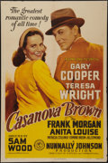 "Movie Posters:Comedy, Casanova Brown (RKO, 1944). One Sheet (27"" X 41""). Comedy.. ..."