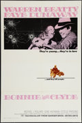 """Movie Posters:Crime, Bonnie and Clyde (Warner Brothers-Seven Arts, 1967). One Sheet (27"""" X 41""""). Crime.. ..."""