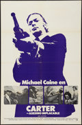 """Movie Posters:Crime, Get Carter (MGM, 1971). Spanish Language One Sheet (27"""" X 41"""").Crime.. ..."""