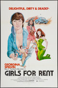 "Movie Posters:Sexploitation, Girls for Rent & Other Lot (Independent International Pictures,1974). One Sheets (2) (27"" X 41""). Sexploitation.. ... (Total: 2Items)"