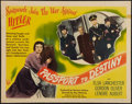 "Movie Posters:War, Passport to Destiny (RKO, 1944). Half Sheet (22"" X 28""). War.. ..."