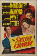 "Movie Posters:Drama, The Saxon Charm (Universal International, 1948). One Sheet (27"" X 41""). Drama.. ..."