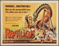 """Movie Posters:Science Fiction, Reptilicus (American International, 1961). Half Sheet (22"""" X 28"""").Science Fiction.. ..."""