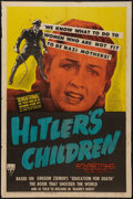 "Movie Posters:War, Hitler's Children (RKO, 1943). One Sheet (27"" X 41""). War.. ..."