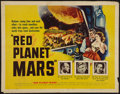 """Movie Posters:Science Fiction, Red Planet Mars (United Artists, 1952). Half Sheet (22"""" X 28"""").Science Fiction.. ..."""